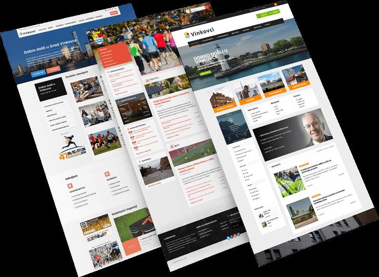 Izrada web stranica općine i gradovi